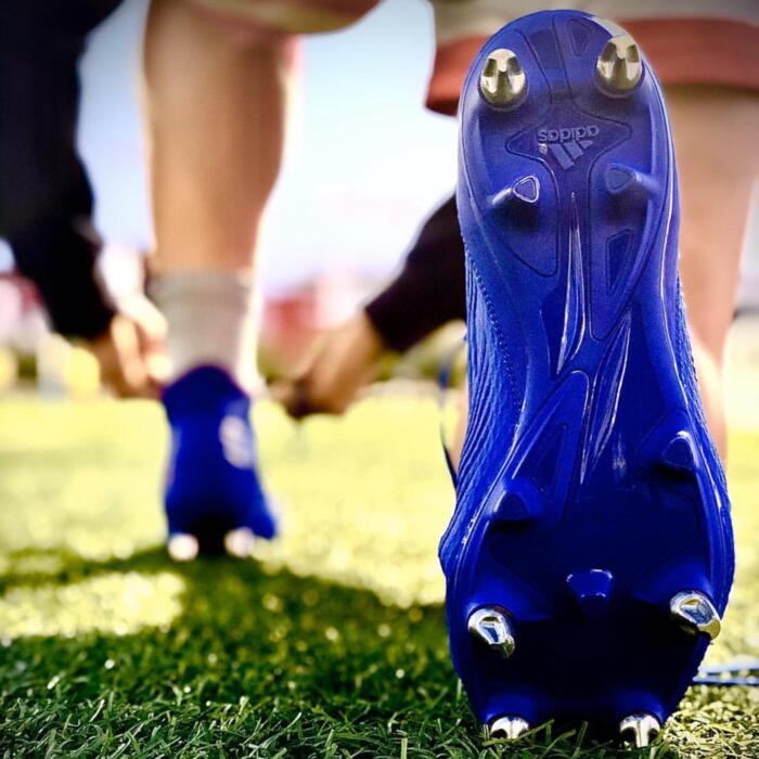 Crampons Smartpower 8/11mm à visser alu rugby et football pour chaussures Adidas