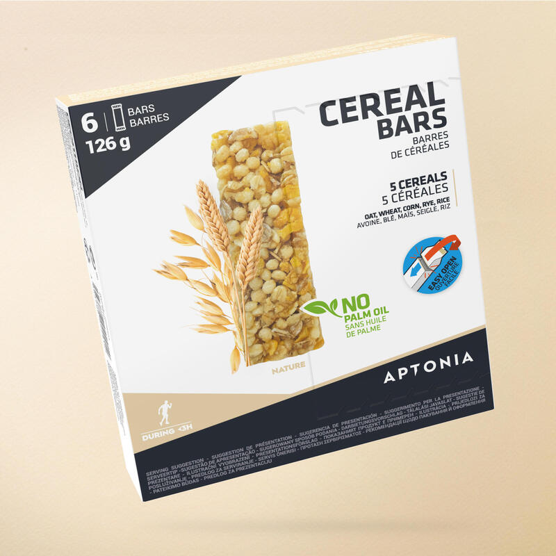 Baton Cereale Naturale Clak 6 x 21g