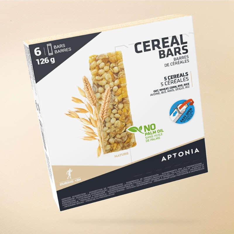 BARRAS, GÉIS& PÓS-ESFORÇO Hidratação e Alimentação - Barra cereais CLAK Natural APTONIA - Esforço entre 1 a 3 horas
