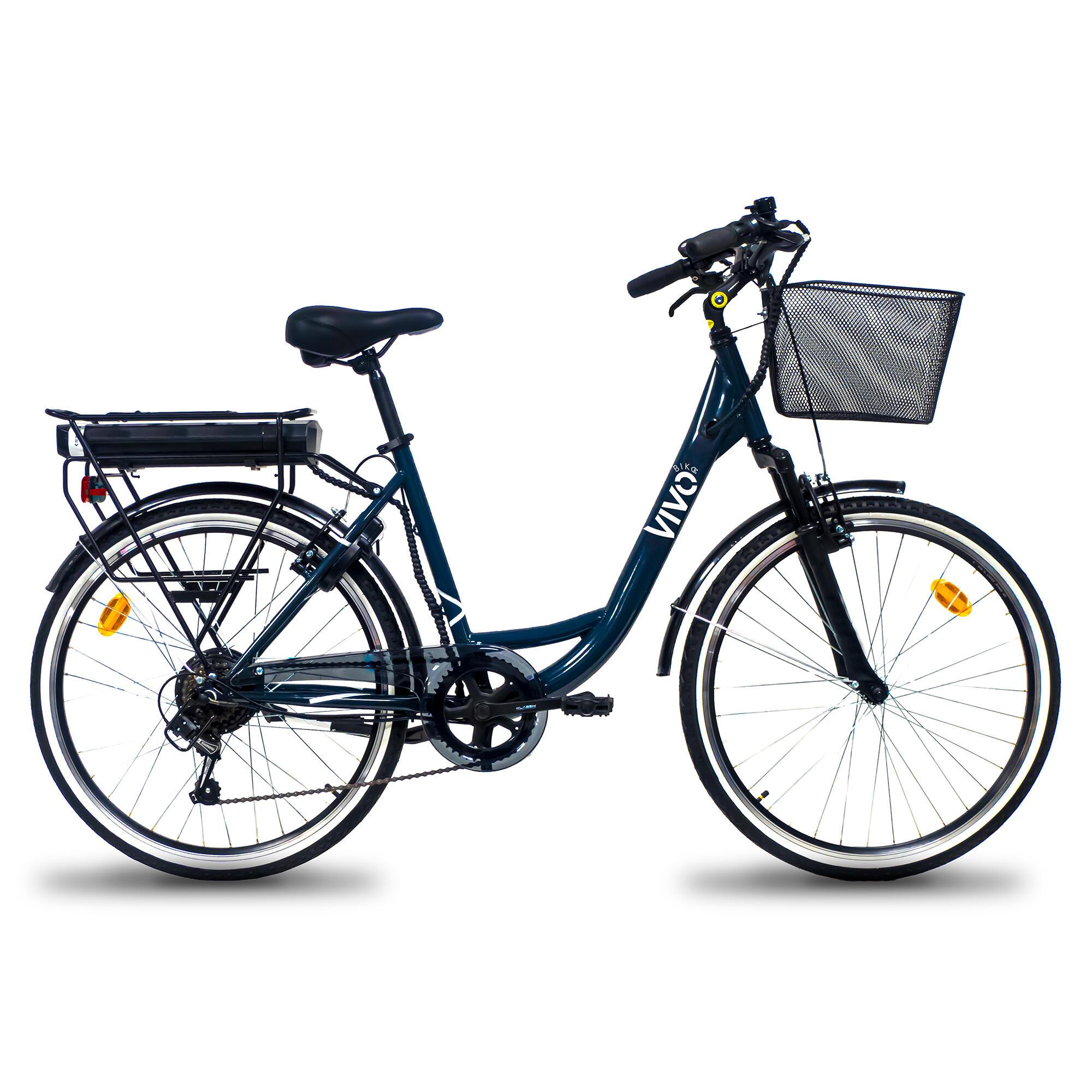 "VIVOBIKE. Bici da città elettrica a pedalata assistita VivoBike Milano 26"""
