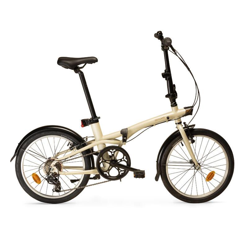 Tilt 500 Folding Bike - Beige