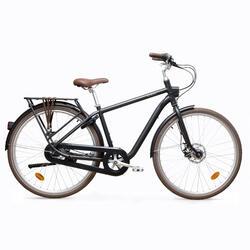 City Bike 28 Zoll Elops 900 HF Herren Aluminium schwarz