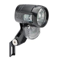 Fahrradbeleuchtung Frontleuchte AXA Blueline 30 Switch Steady