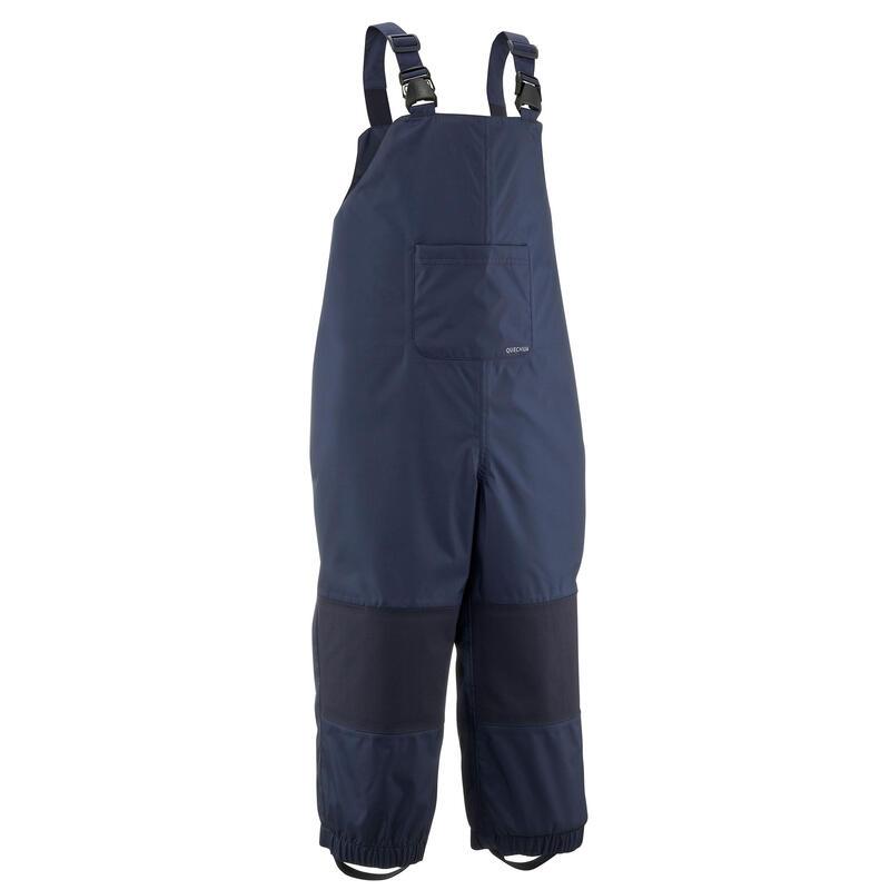 Salopette imperméable de randonnée bleu marine - enfant - 2-6 ans