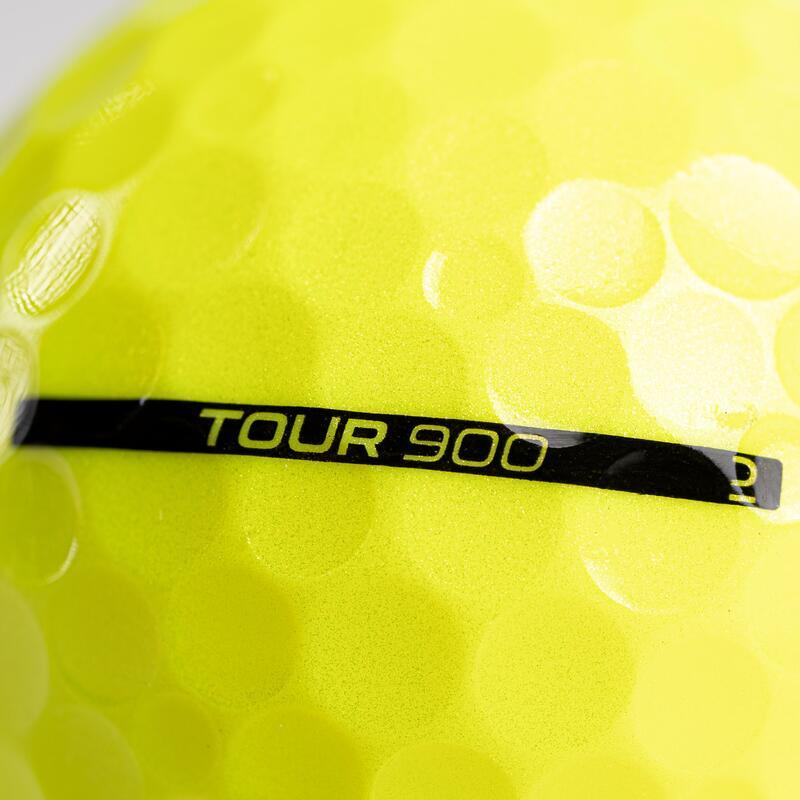 GOLF BALL TOUR 900 X12 - YELLOW
