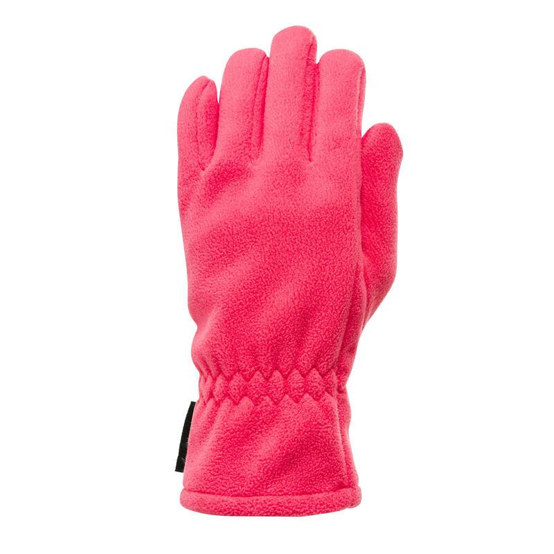 Guanti montagna bambina 6-14 anni PILE X-WARM rosa