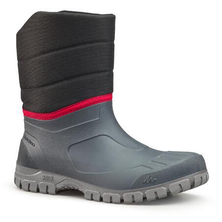 Men's Warm Waterproof Snow Hiking Boots - SH100 X-WARM