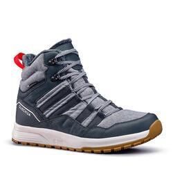 Men's Warm and Waterproof Hiking Boots - SH100 X-WARM