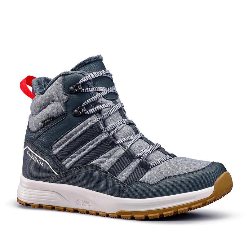 Warme en waterdichte wandelschoenen voor heren SH100 X-WARM