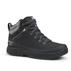Scarpe trekking uomo SH100 ULTRA-WARM nere