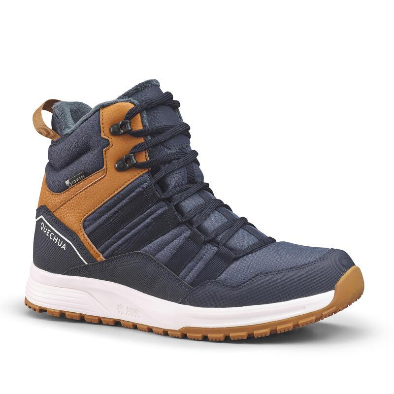 Warme waterdichte wandelschoenen voor heren SH100 X-warm