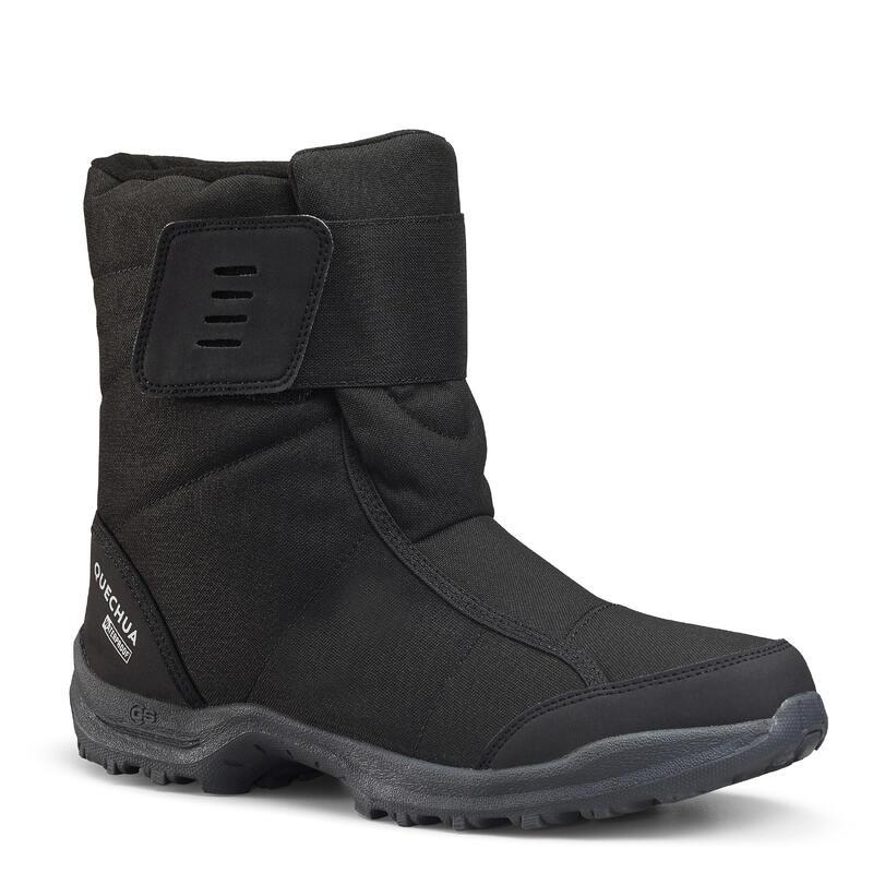 Erkek Kar Botu - Gri / Siyah - SH100 X-Warm