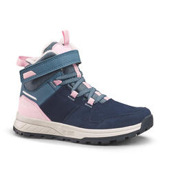Warme en waterdichte leren wandelschoenen voor kinderen SH100 maat 24-34