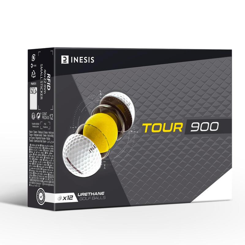 ลูกกอล์ฟรุ่น Tour 900 แพ็ค 12 ลูก (สีขาว)