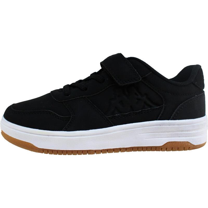 chaussure de marche enfant Kappa Seattle scratch noir