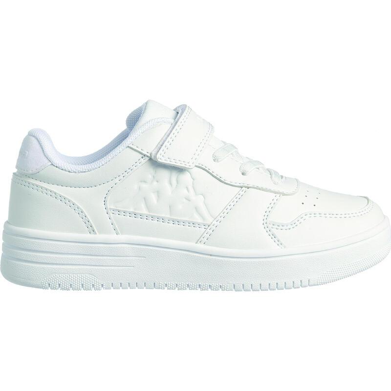 Chaussures de marche enfant Kappa Seattle blanc velcro
