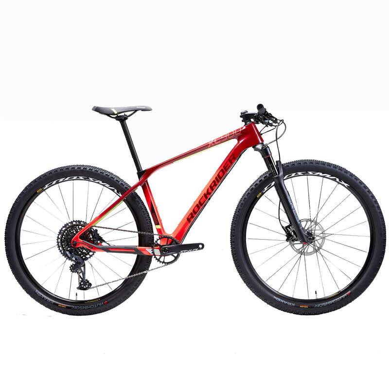 Горные велосипеды cross country для взрослых Велоспорт - ГОРНЫЙ ВЕЛОСИПЕД XC900 КАРБОН ROCKRIDER - Велоспорт