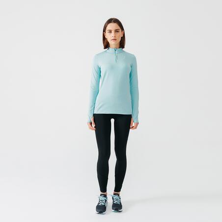 Maillot de course à demi-glissière- Femmes