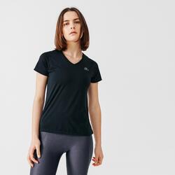 Women's Running T-Shirt Run Dry - black