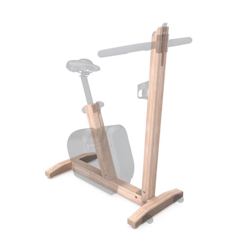 Vélo d'appartement en bois Woodbike (partie bois 1/2)