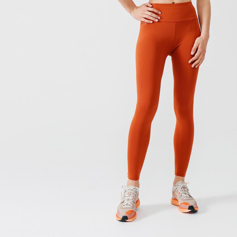 Run Support Leggings - Orange