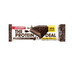 Barretta proteica The protein deal Enervit DOUBLE CHOCO STORM crunchy