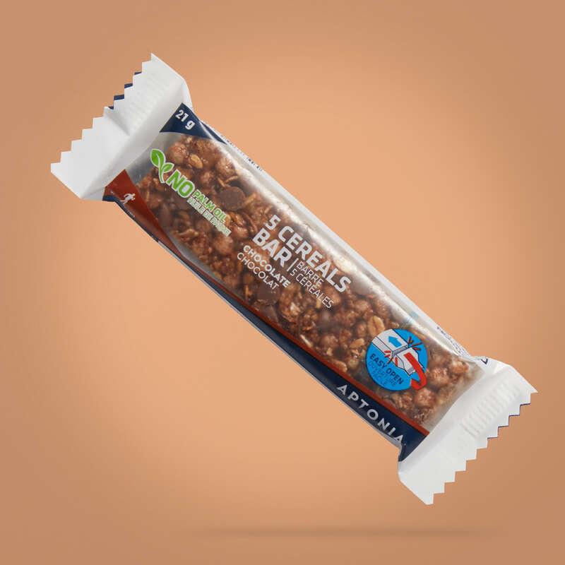 BATOANE, GELURI ȘI RECUPERARE Drumetie, Trekking - Baton Cereale Ciocolată 21 g  APTONIA - Echipament drumetie