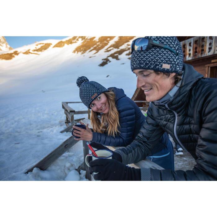 Casaco de penas de ski Freeride camada 2 FR900 Warm Homem Antracite