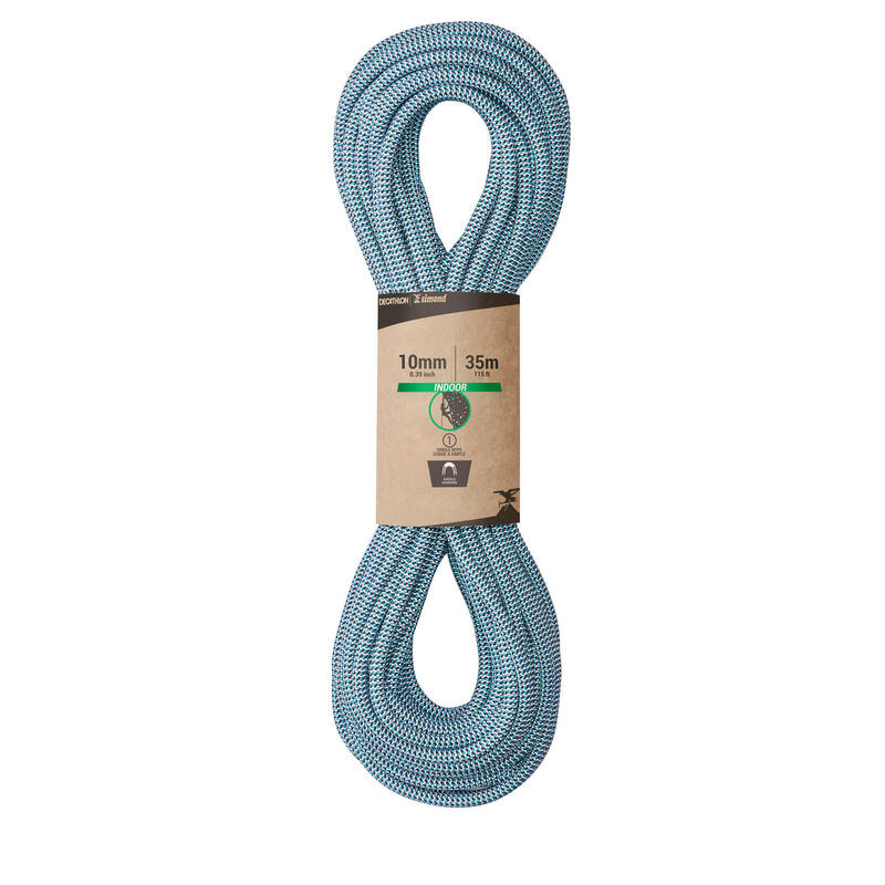 INDOOR CLIMBING ROPE 10 MM x 35 M - COLOUR BLUE