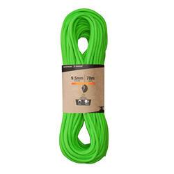 Climbing Rope 9.5 mm x 70 m - Cliff Green