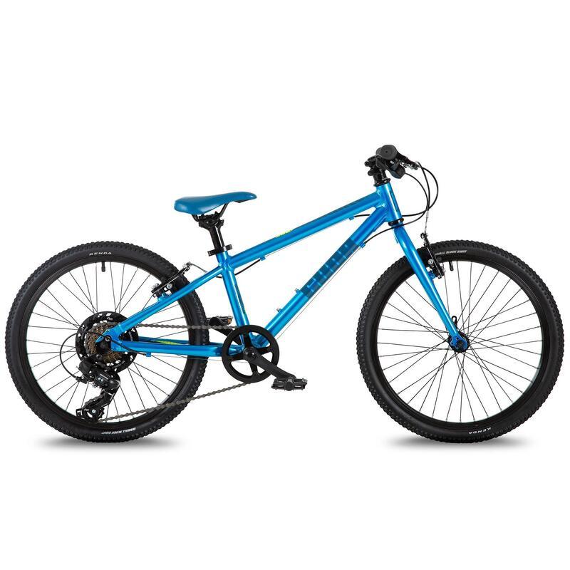 "Cuda Trace Kids Alloy Hybrid Bike, Blue - 20"""
