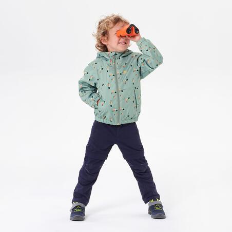 """Vaikiška neperšlampama žygių striukė """"MH500"""", 2–6 m. amžiaus vaikams"""