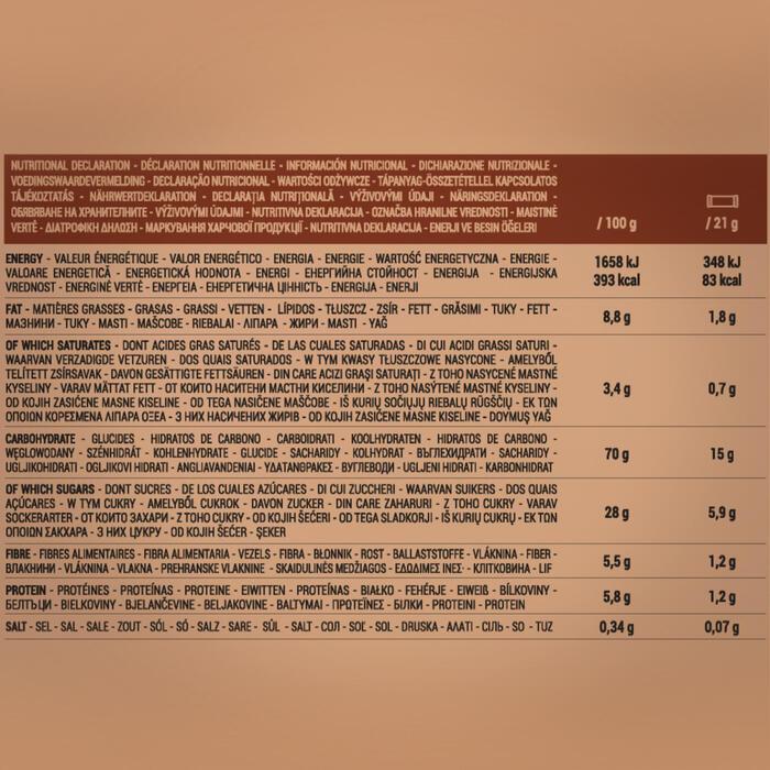 Barra de Cereais Chocolate 6 +2 x 21g