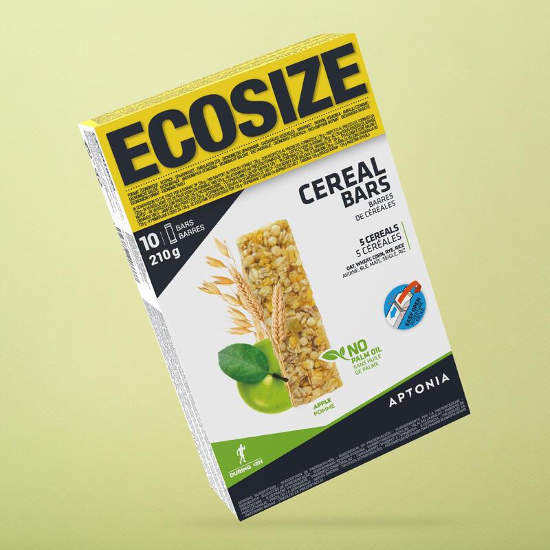 Baton de Cereale Clak Ecosize Măr 10 x 21g