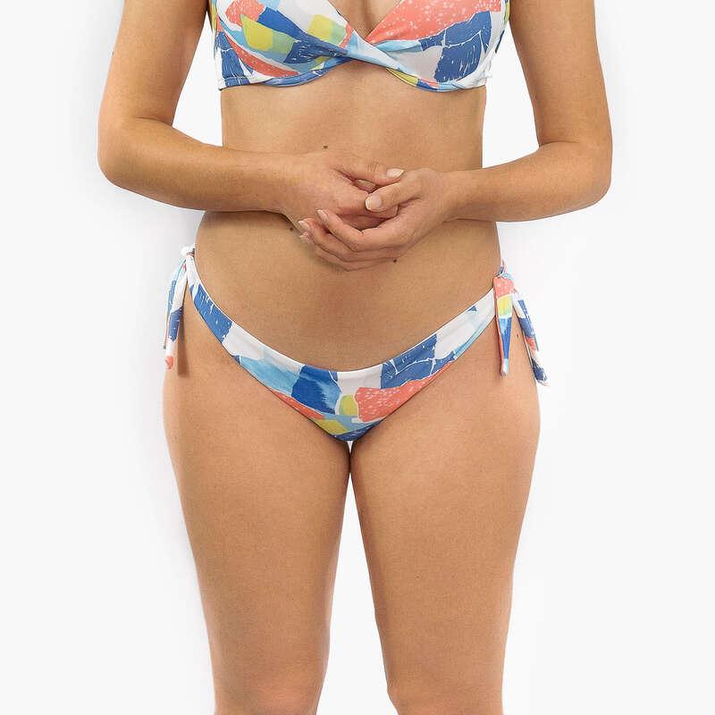 Bikinis Mulher nível principiante Papagaios, Kitesurf - Cueca Bikini Brasil Mini Laço DECATHLON - Bikinis, Calções, Chinelos e Toalhas