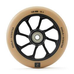 Stunt Scooter Rolle Alu-Core schwarz PU 120 mm beige