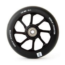 Roda de Trotinete Freestyle Core Alumínio Preto PU 120 mm Preto