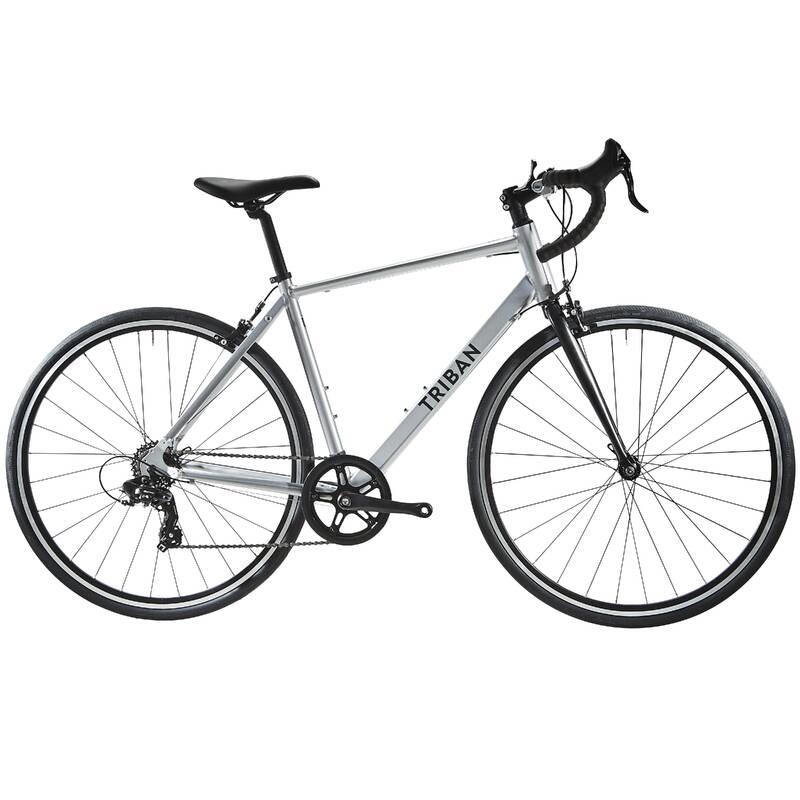 SILNIČNÍ KOLA NA CYKLOTURISTIKU Cyklistika - SILNIČNÍ RC100 SLICK EDITION TRIBAN - Jízdní kola