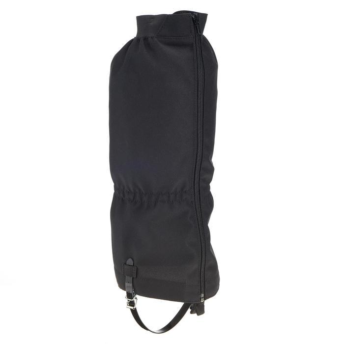 Guêtre de trekking forclaz 50 noir - 205171