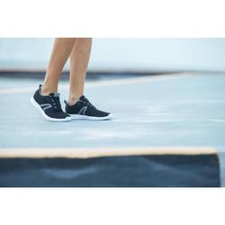 Freizeitschuhe Walking Soft 140 Mesh Damen schwarz