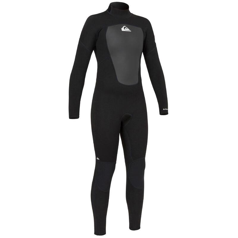 Kids' Surfing Wetsuit Quiksilver Prologue 3/2 mm - Black
