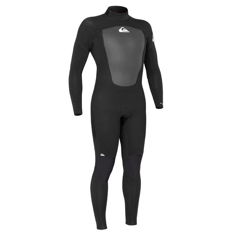 Men's Surfing Wetsuit Quiksilver Prologue 3/2 mm - Black