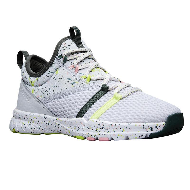 Dámské kotníkové fitness boty 140 šedé