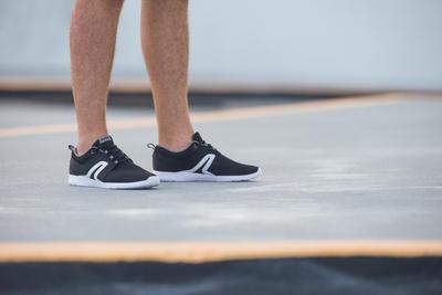Chaussures marche sportive homme Soft 140 Mesh bleu / gris