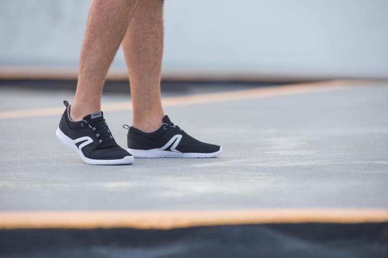Soft 140 summer men's active walking shoes black/white