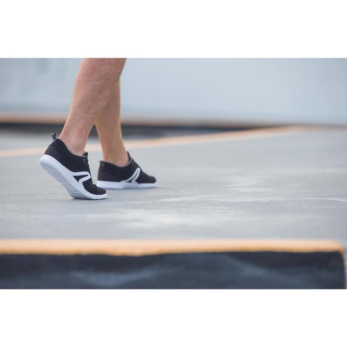 Freizeitschuhe Walking Soft 140 Mesh Herren schwarz/weiß