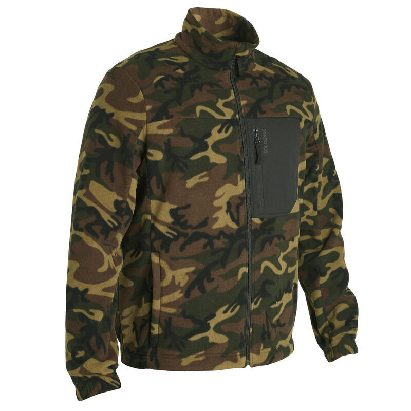 POLAIRE CHASSE RECYCLEE CAMOUFLAGE 500