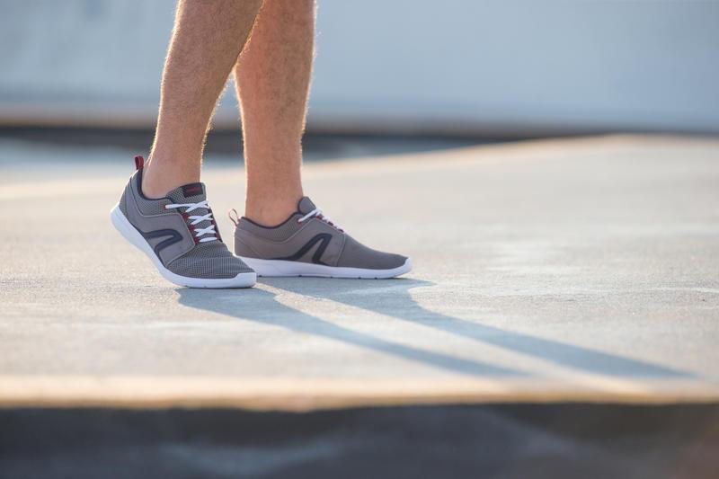 Walking Shoes for Men Soft 140 Mesh - Grey/Blue