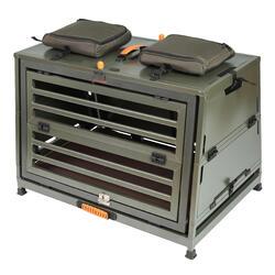 Caixa de Transporte Dobrável em Alumínio 900 para 1 Cão