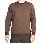 Men's Pullover Sweater SG-100 Brown
